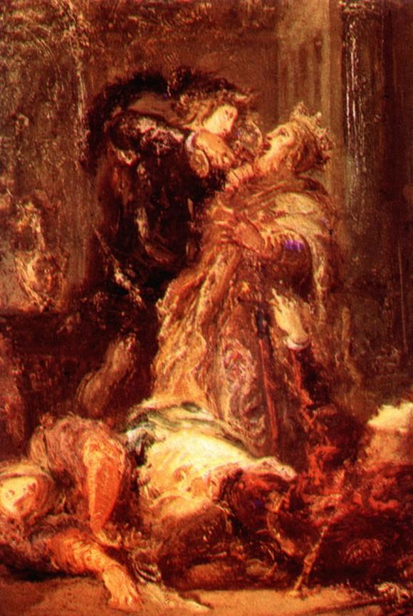 Принц Гамлет Король Клавдий убийствам - Гюстав Моро
