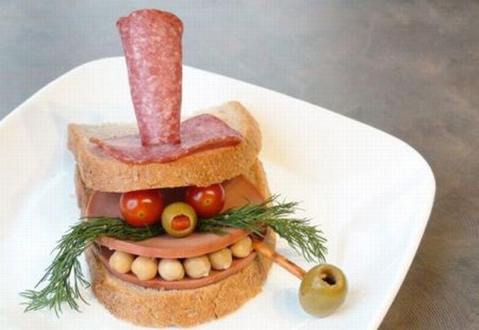 Сэндвич веселый!