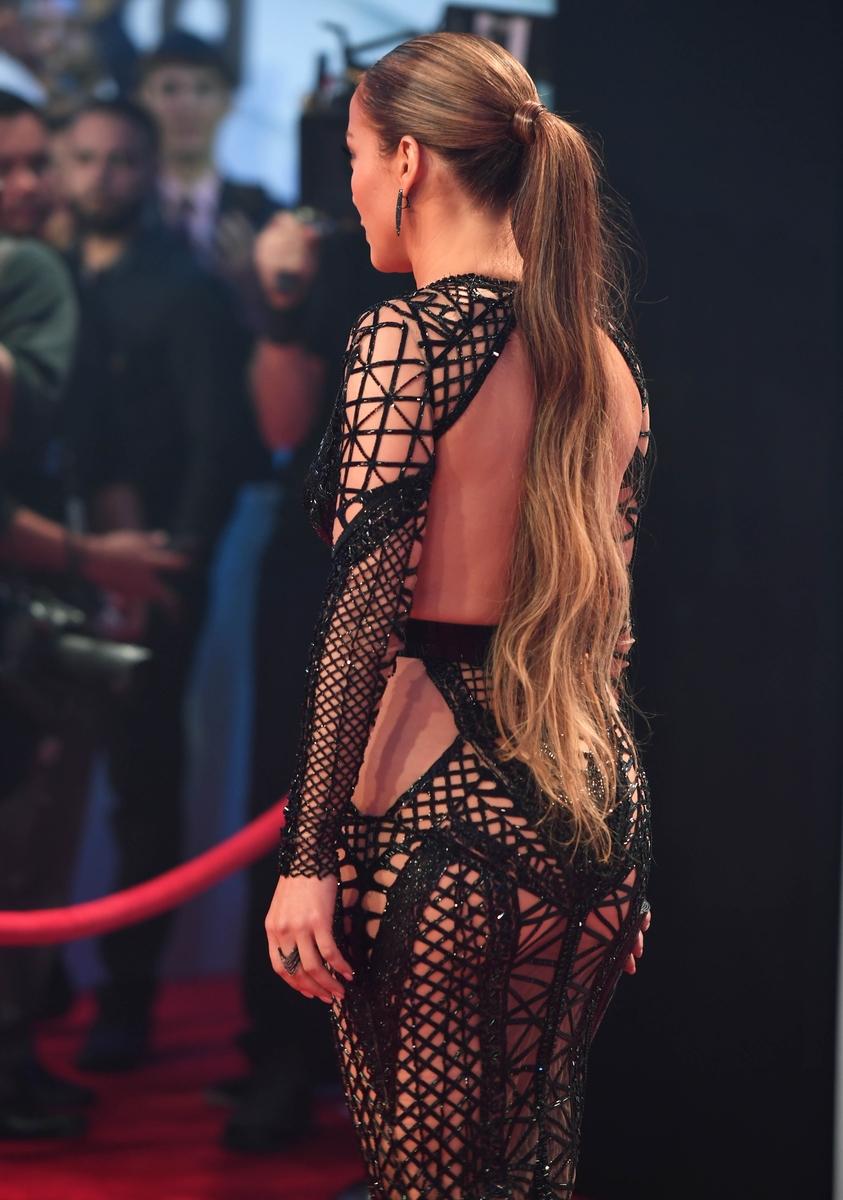 Дженнифер Лопес на Billboard Latin Music Awards 2017
