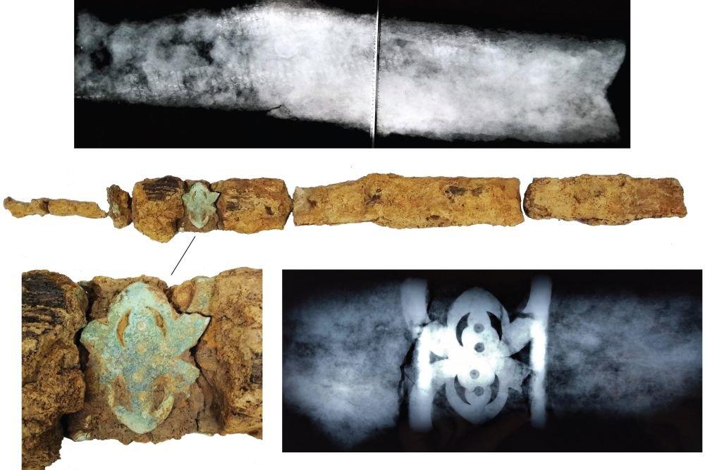 Археологи раскопали редкую могилу воина времен Христа