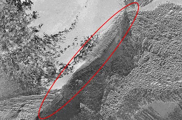 Частный спутник заснял странный объект в турецких горах