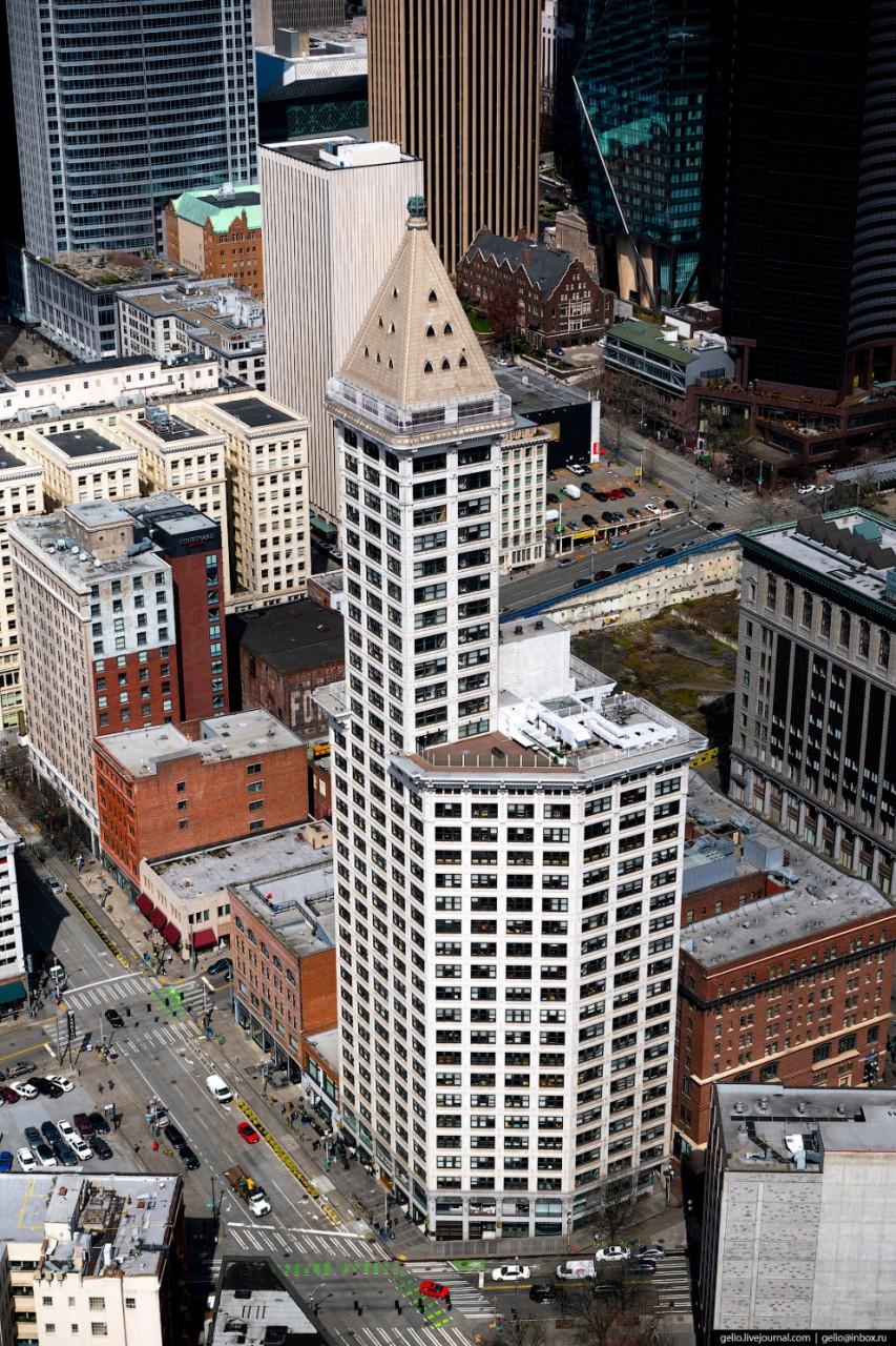 Башня Смита (Smith Tower) — первый небоскрёб в Сиэтле