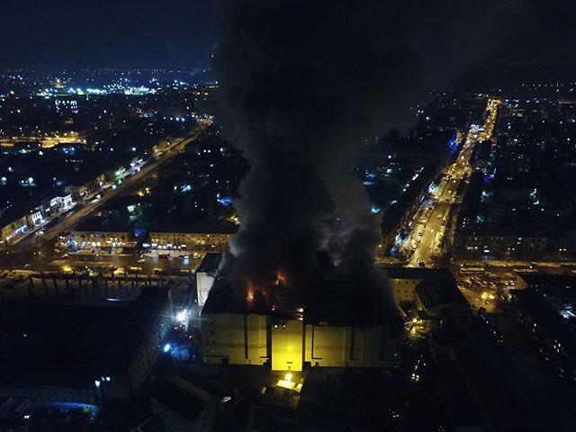 Сгоревший торговый центр в Кемерово - это братская детская могила коррупции