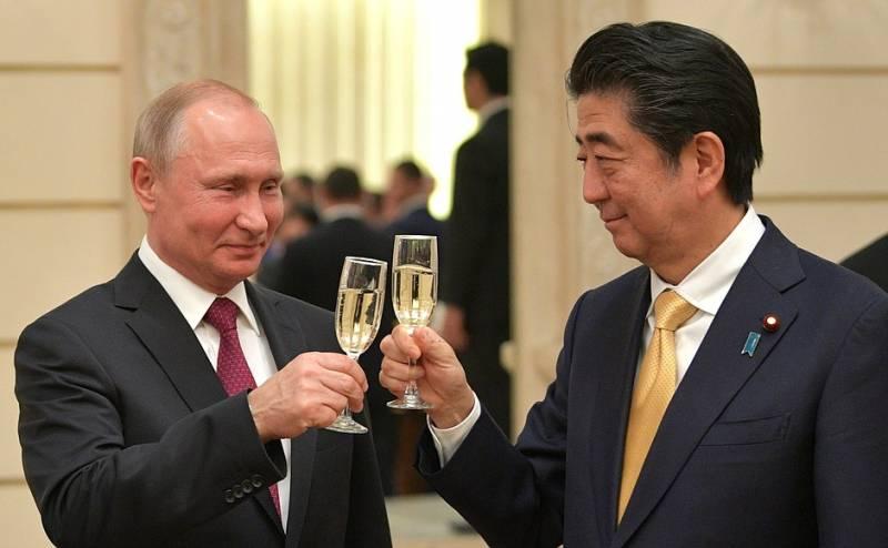 Вы бы отдали японцам два острова ещё до заключения мирного договора?(опрос)