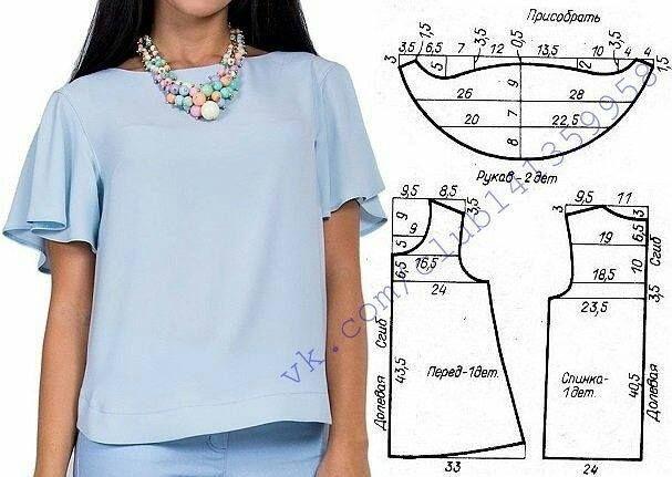 828775cd80e Новая подборка летних блузок + выкройки. Поделиться в ВК. Как быстро  проверить качество стирального порошка
