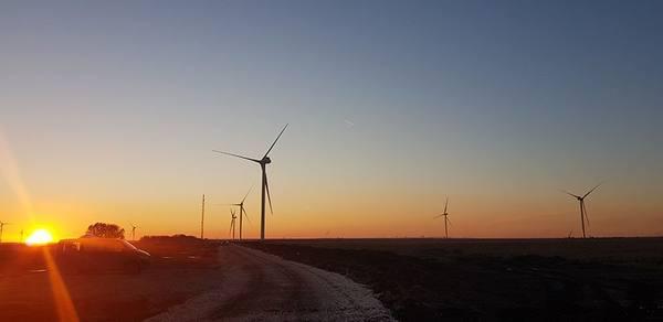 В Ульяновской области завершён монтаж второго ветропарка