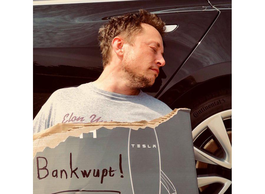 О громком банкротстве Маска и Теслы – апрельском и реальном