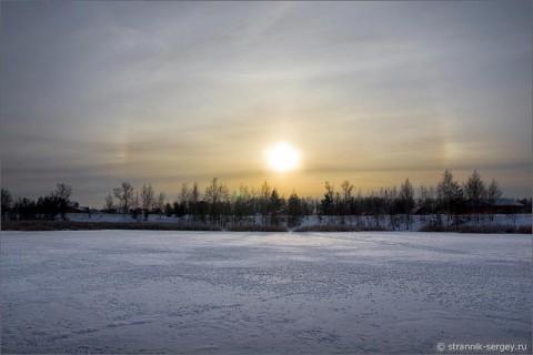 Декабрьское солнце. Поворот на лето