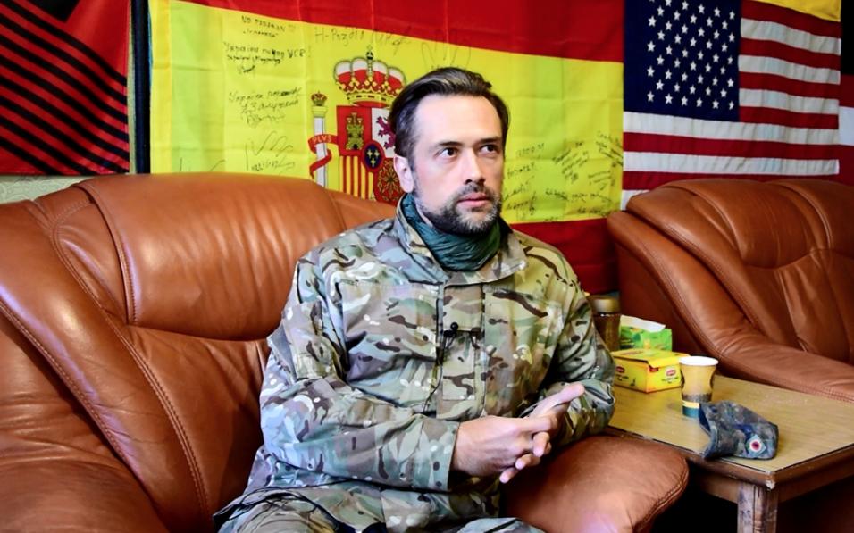 """""""Позатыкать им рты"""". Актёр Пашинин рассказал, почему пошёл воевать в Донбасс"""