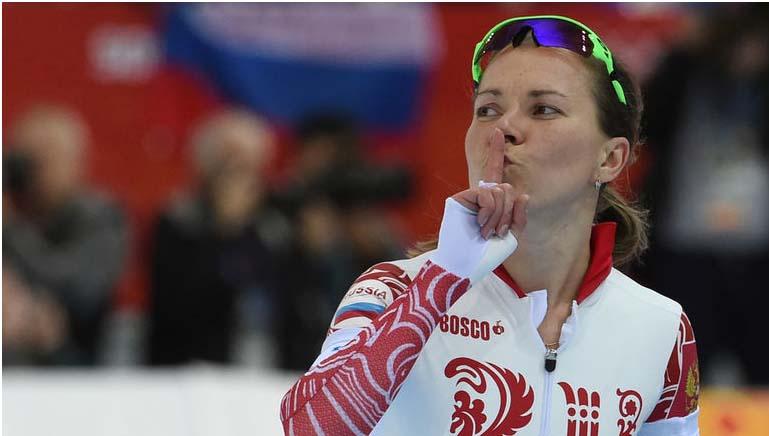 Патриотический поступок российской спортсменки Ольги Граф!