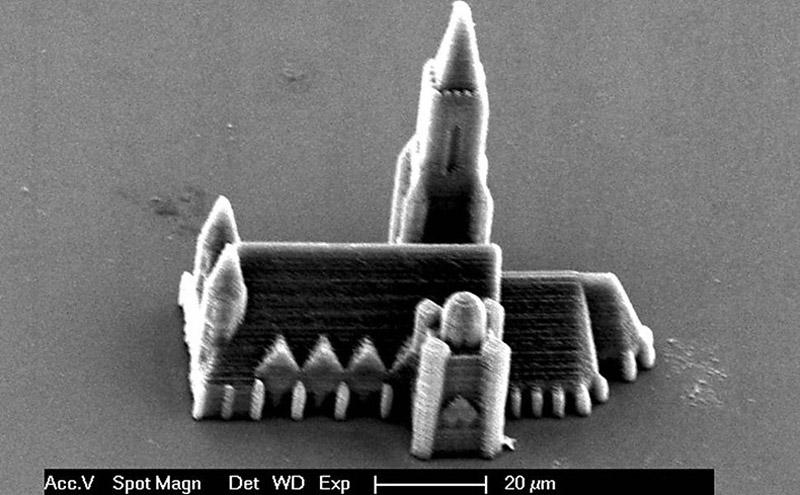 0411 Удивительный трехмерный нанопринтер