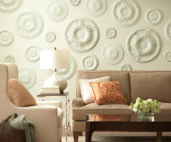 Стиль, дизайн. 13 видов эффектной отделки стен