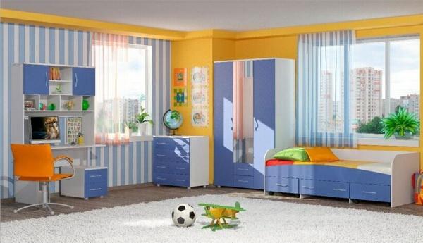 Как спланировать детскую комнату для двоих детей? Original