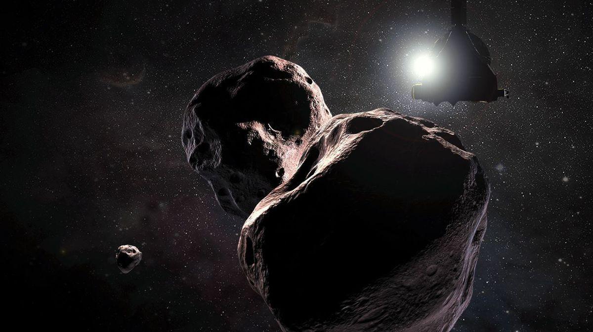 Зонд New Horizons подошел к самому далекому астероиду Солнечной системы