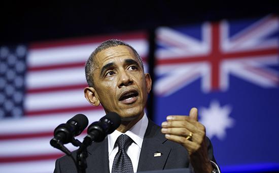 Обама назвал действия России на Украине угрозой миру