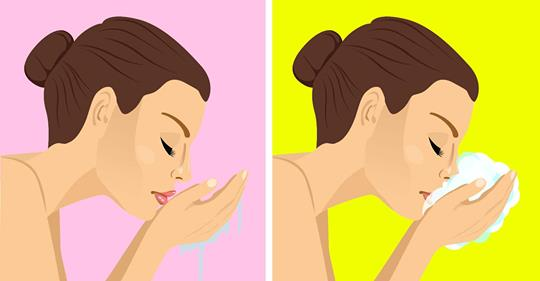 4 ошибки, которые нельзя совершать при умывании лица
