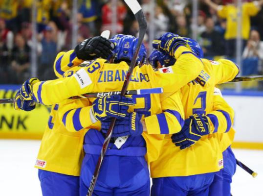Швеция выиграла шестой матч …