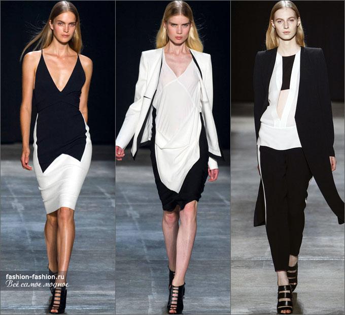 Черно-Белые Одежда