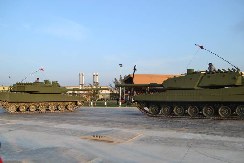 Бронированный кулак Эрдогана. Танк Altay