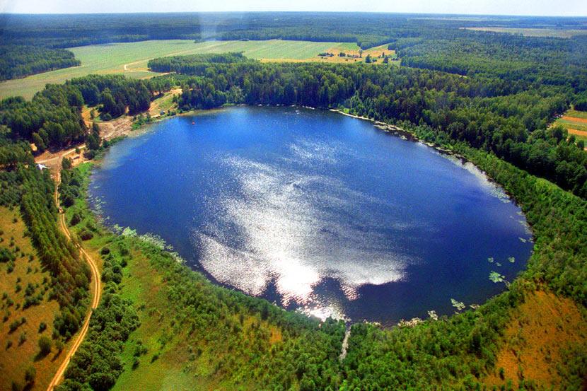 Красоты России. Озеро Светлояр