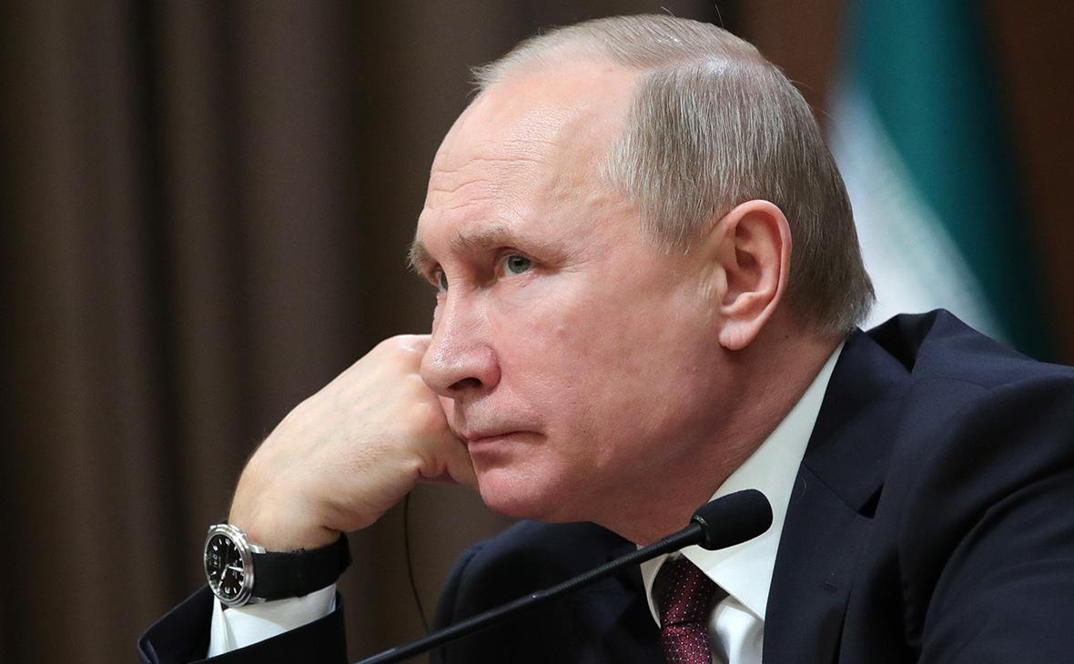 Путин выступил, но рейтинг не встал...