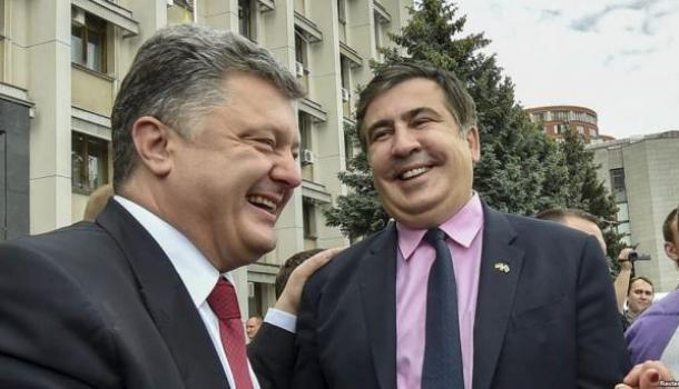 Саакашвили: я генетически отличаюсь от Порошенко