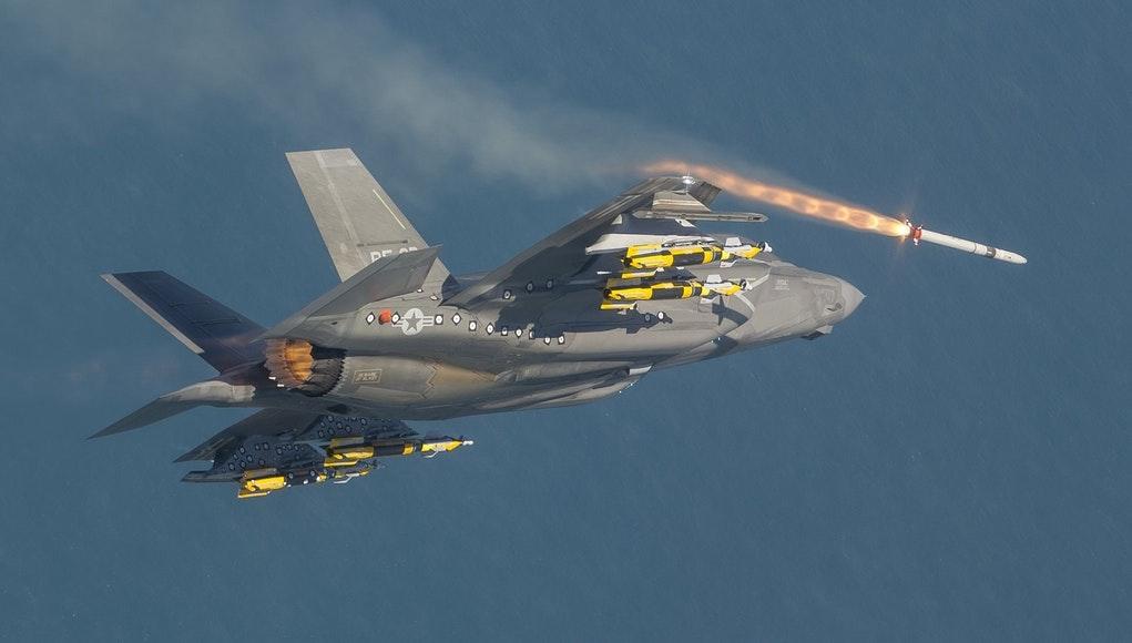 F-35 впервые применили в бою