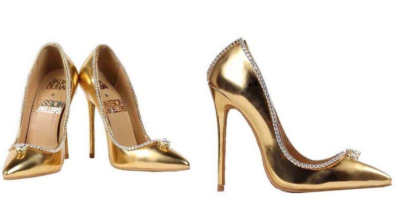 В Дубае продают самую дорогую в мире пару туфель за 17 миллионов долларов