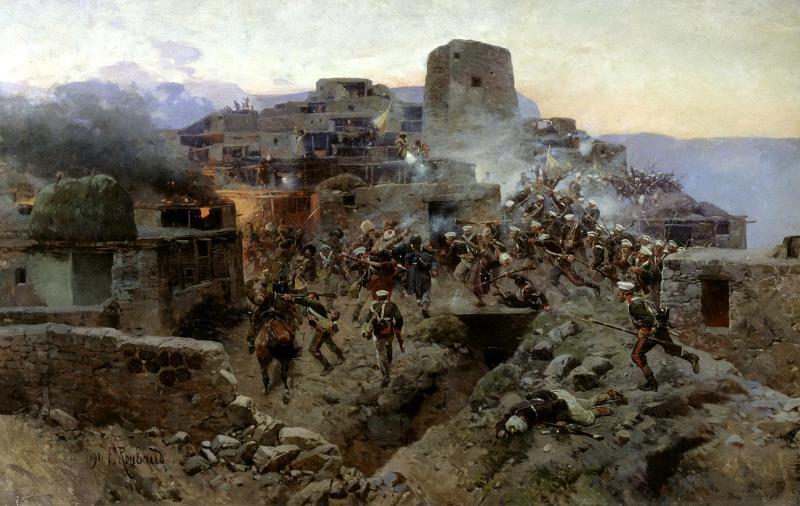 Кавказские  войны  России