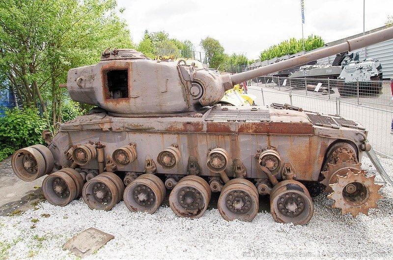Музей техники в Зинсхайме: военная техника под открытым небом