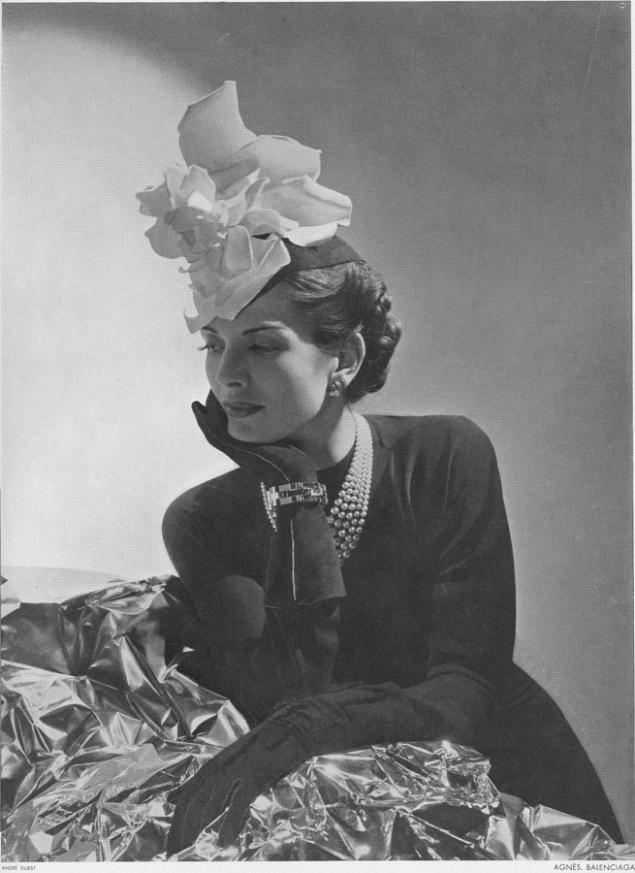 Очаровательные 50-е: Cristobal Balenciaga