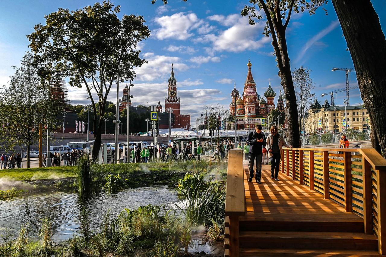 Отдых в мегаполисе: как изменились парки Москвы за несколько лет