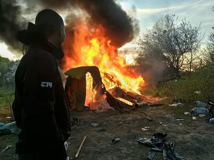 Атака на цыган во Львове ужа…