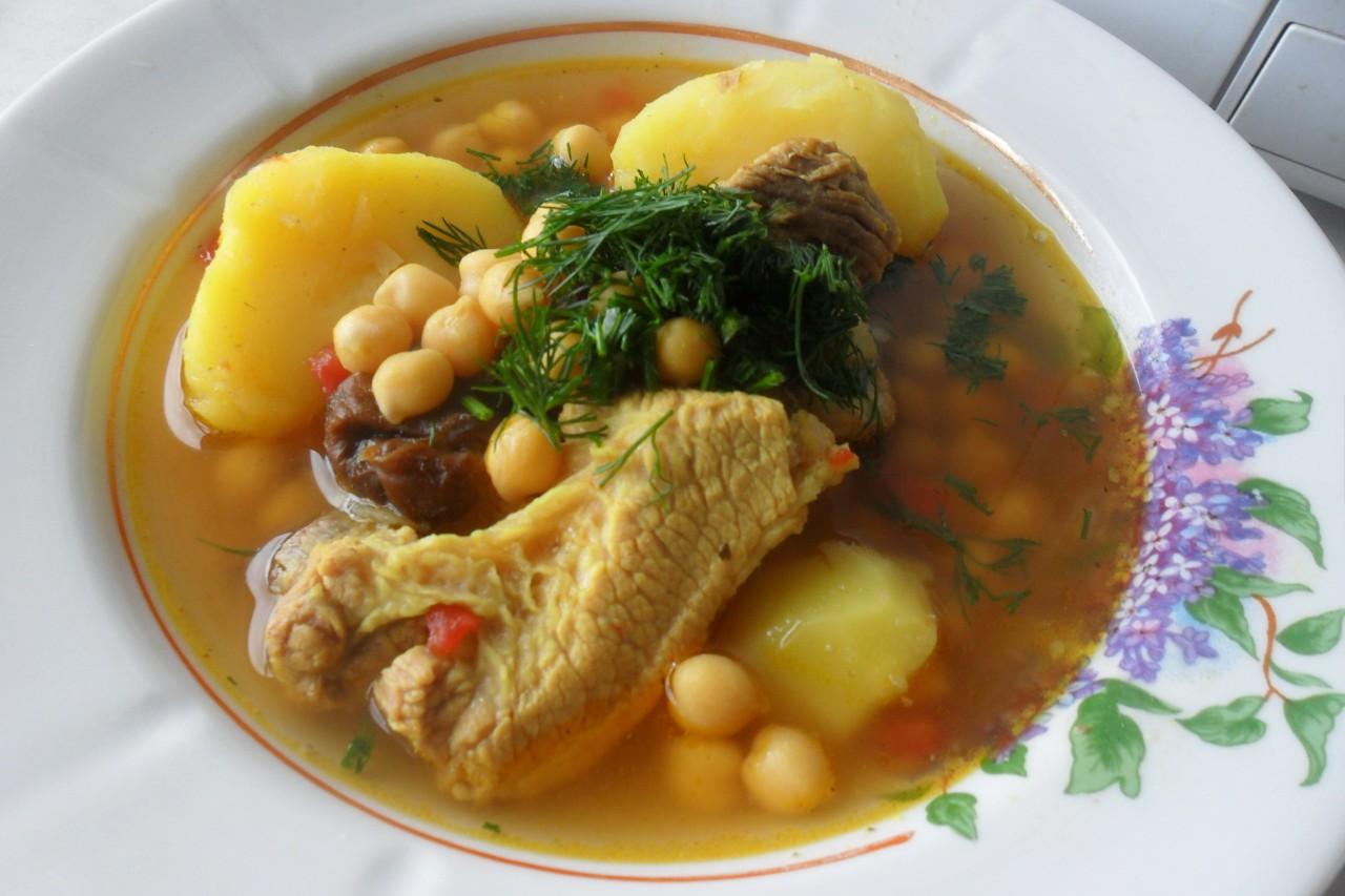 Гороховый суп Пити