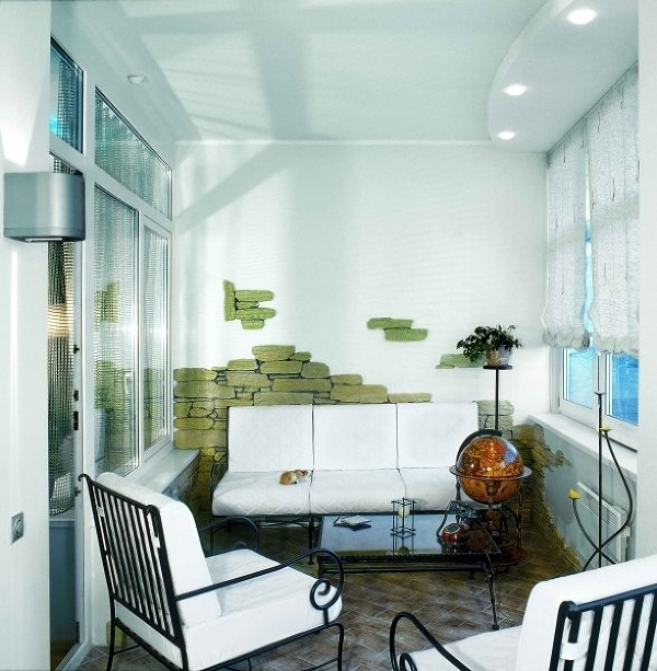 Идеи дизайна балконов и лоджий.