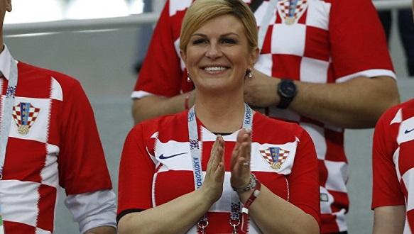 ВСочи наматч ¼ финала чартерным рейсом прилетела президент Хорватии
