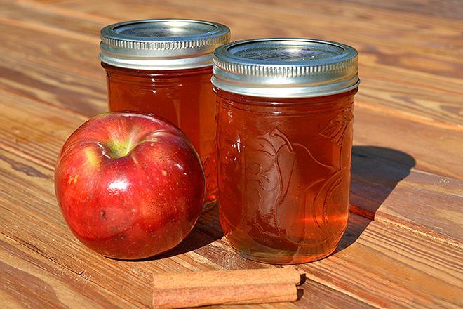 Пряное яблочное желе