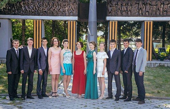 Славяна Николаева с выпускниками