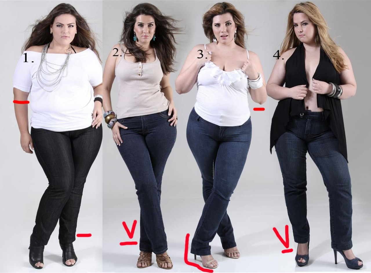 Как выбирать джинсы для корпулентной фигуры