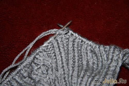 Носки связанные без пятки