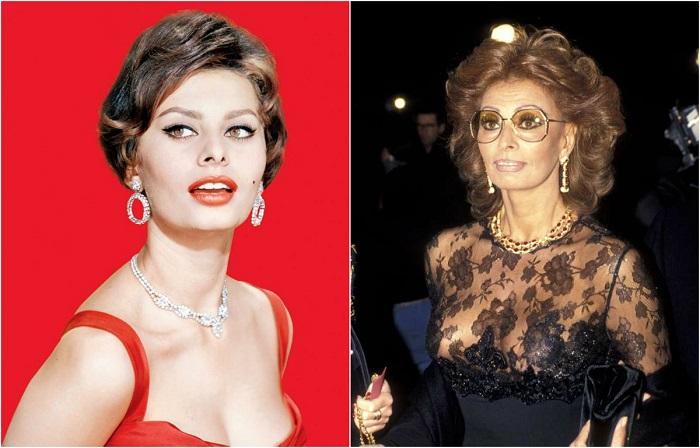Эволюция стиля: Как выглядела легенда кино Софи Лорен в разные годы