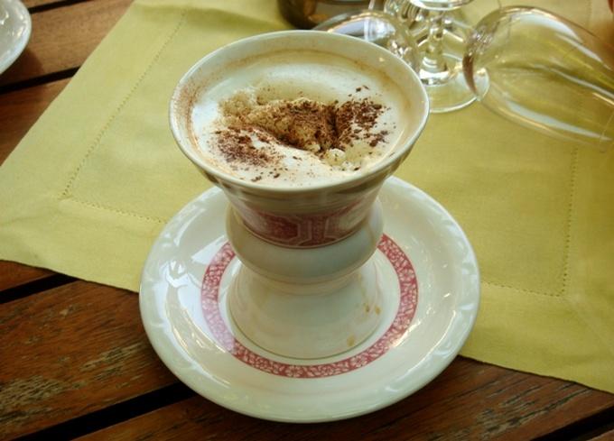 Кофе с коньяком по-немецки