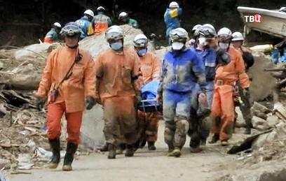 Число погибших из-за ливней в Японии увеличилось до 148 человек