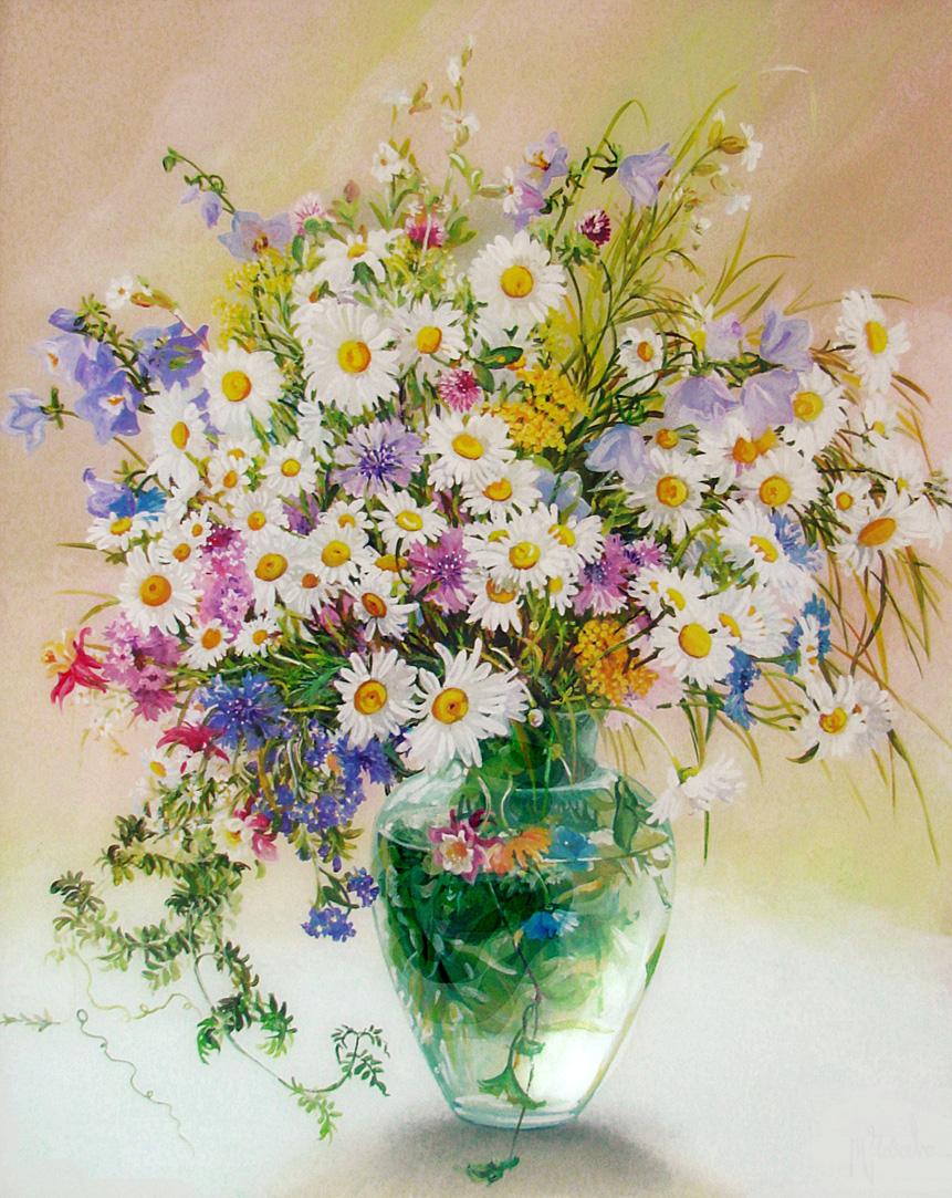 Цветочная Акварель Дарьи Чачевой