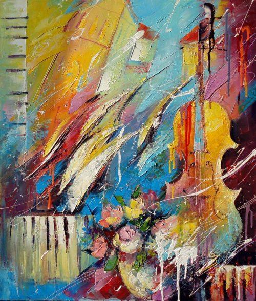 художник Лиана Моисеева картины - 10