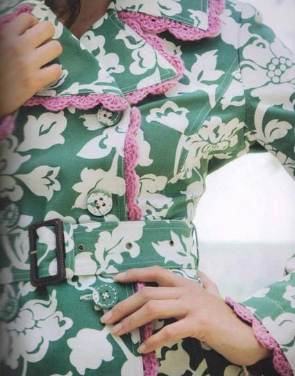 Преображаем одежду вязаными деталями...