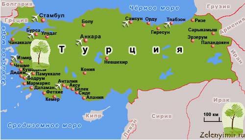 Уникальный курорт Памуккале с термальными источниками, Турция - 11