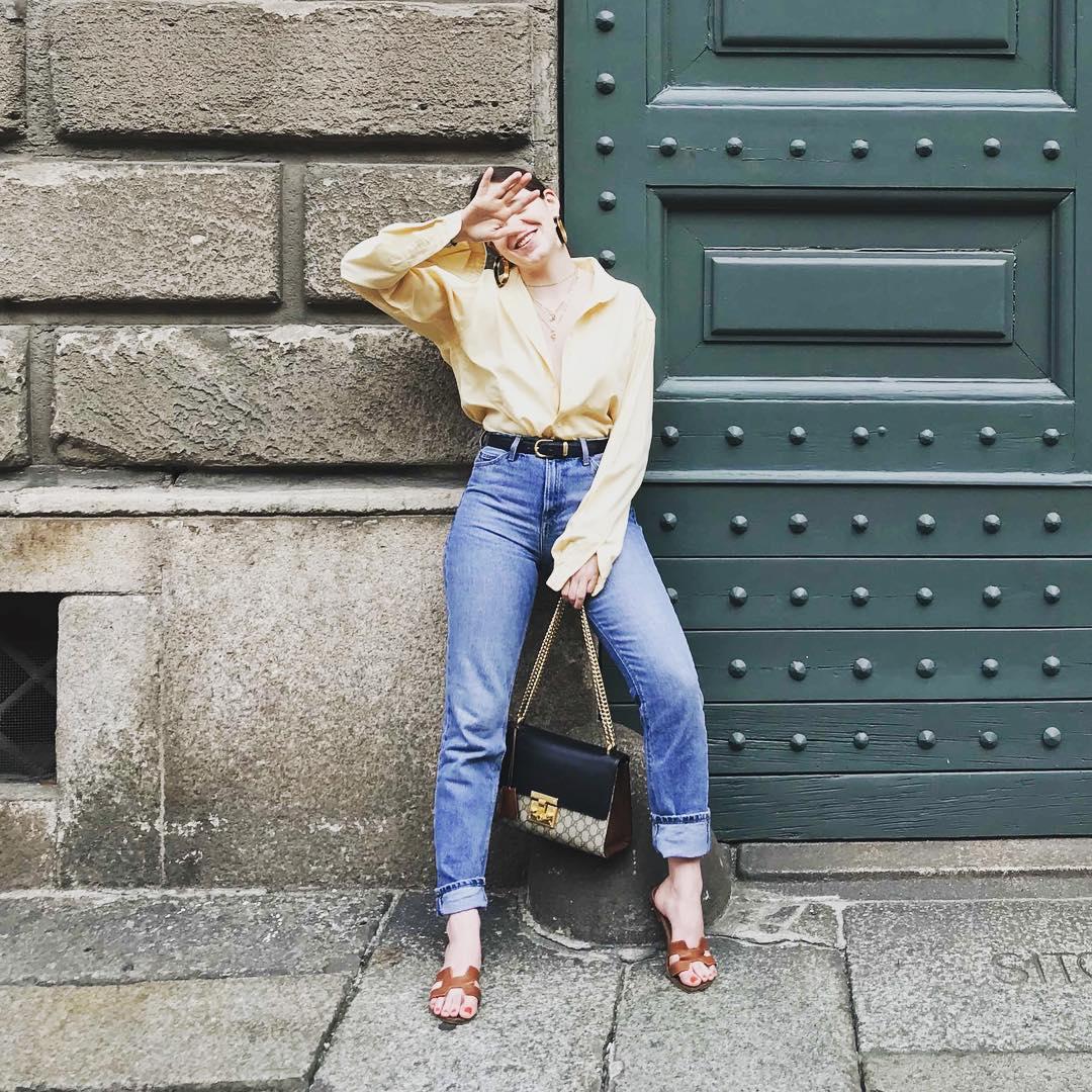 Стрелки, перья, узелки: все составляющие самых модных джинсов в 2019 году