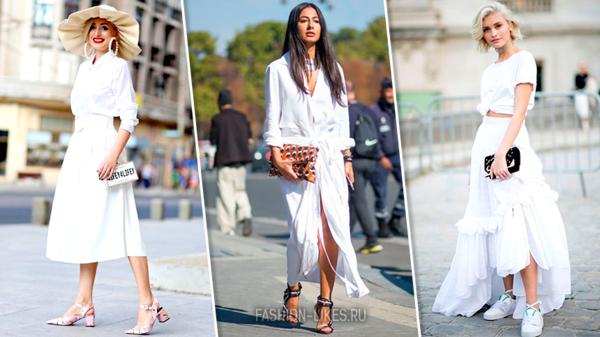 7 стильных идей, как носить белое платье этим летом и быть на высоте