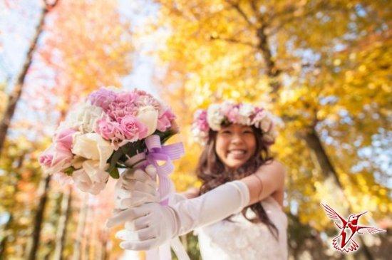 Услуга для одиноких женщин - сольная свадьба
